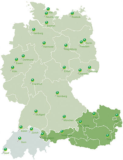 This pictures shows the markets of Laboratoires Hauser Distribution of Parfums and Fragrances